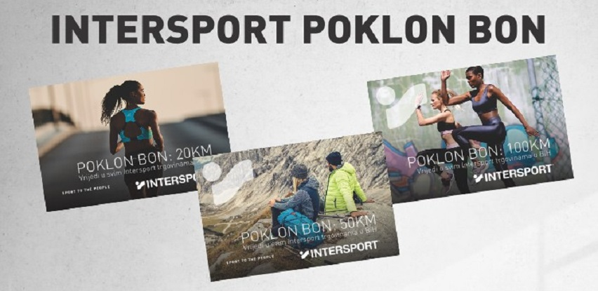 Intersport poklon bon - idealan poklon!