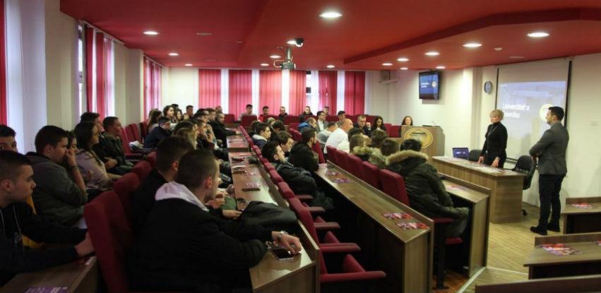 Učenici Srednje grafičke škole sa Ilidže u posjeti FTS Travnik