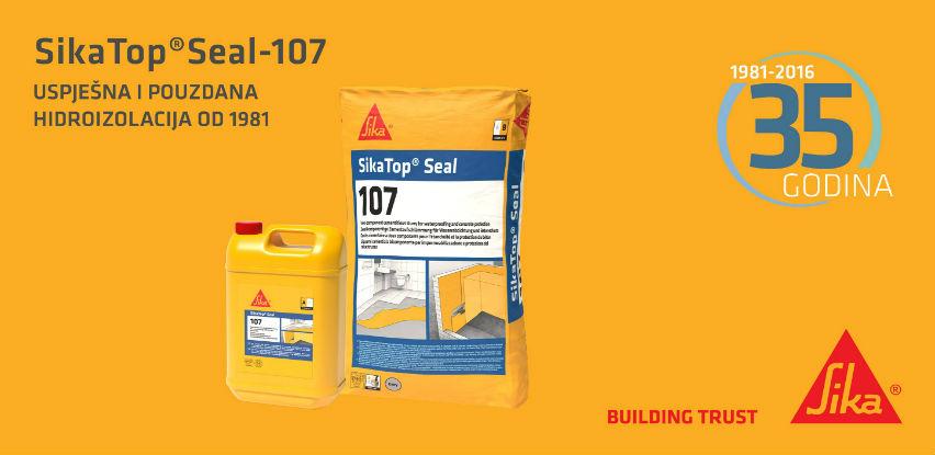 SikaTop® Seal-107 - najprodavaniji proizvod za zaštitu Vaše kupaonice