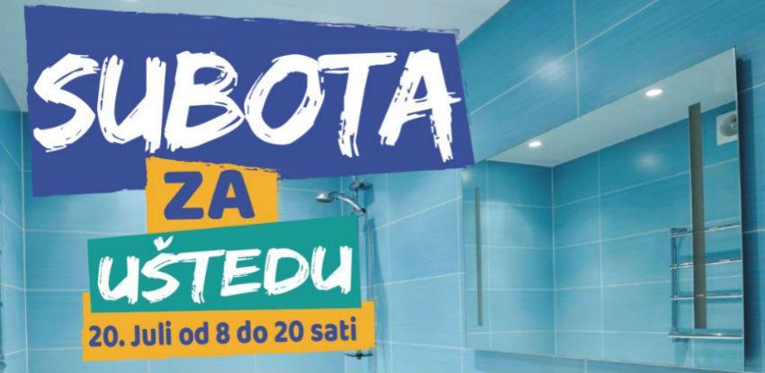 Subota za uštedu u Svijetu kupatila Dženex Tuzla