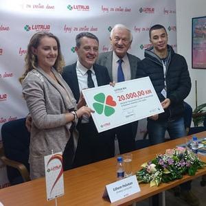 Lutrija BiH dodijelila 20.000 KM za stipendiste