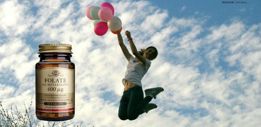 Solgar Folat - Doprinosi smanjenju umora i iscrpljenosti
