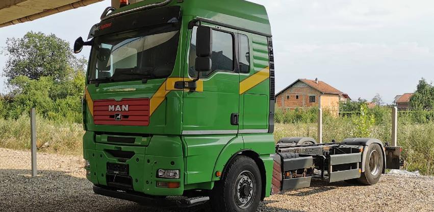 Vozilo na lageru - Polovna šasija - MAN TGA 18.480 4X4 - HYDRODRIVE