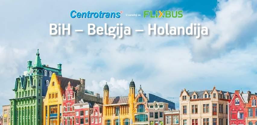 Iskoristite popust u Centrotransu i otputujte u Holandiju i Belgiju