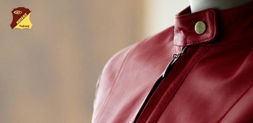 Elegantna i upečatljiva ženska kožna jakna