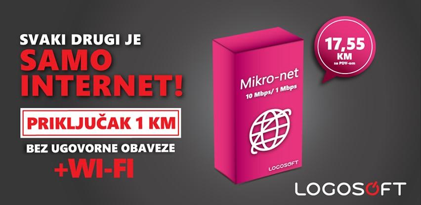 Da li vam treba SAMO INTERNET bez ugovornog vezivanja?