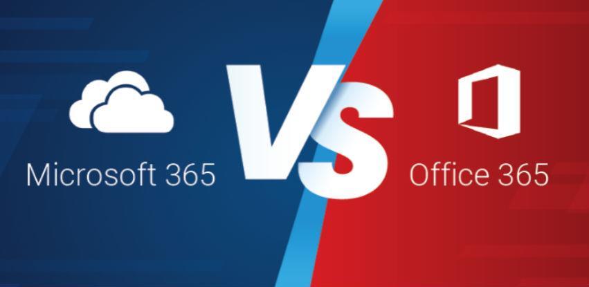 Koja je verzija prava za tvoj posao, Office 365 ili Microsoft 365?