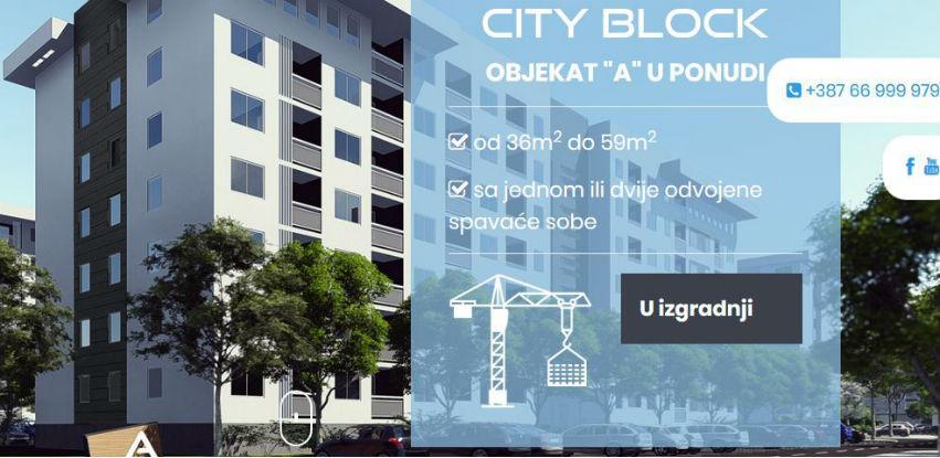 CITY BLOCK: Izaberite stan prema vašim željama