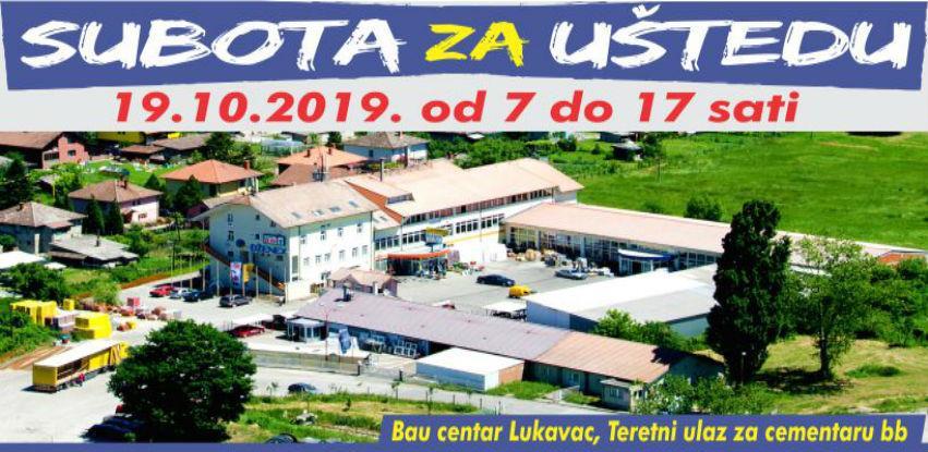 Subota za uštedu u Bau centru Dženex Lukavac