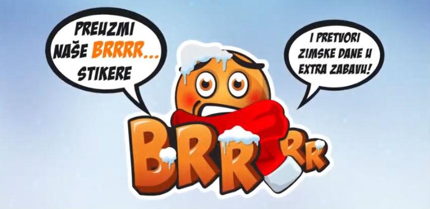 BRRrr... Moja zimska priča - Dostupni novi BH Telecom Viber stikeri (Video)