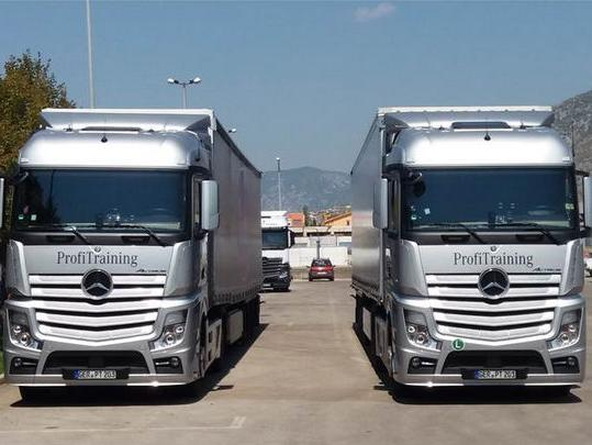 Mercedes-Benz održao obuku za vozače kamiona u BiH