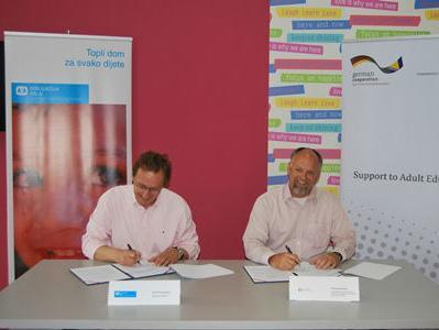 Potpisan Memorandum između organizacije SOS Dječija sela BiH i GIZ-a