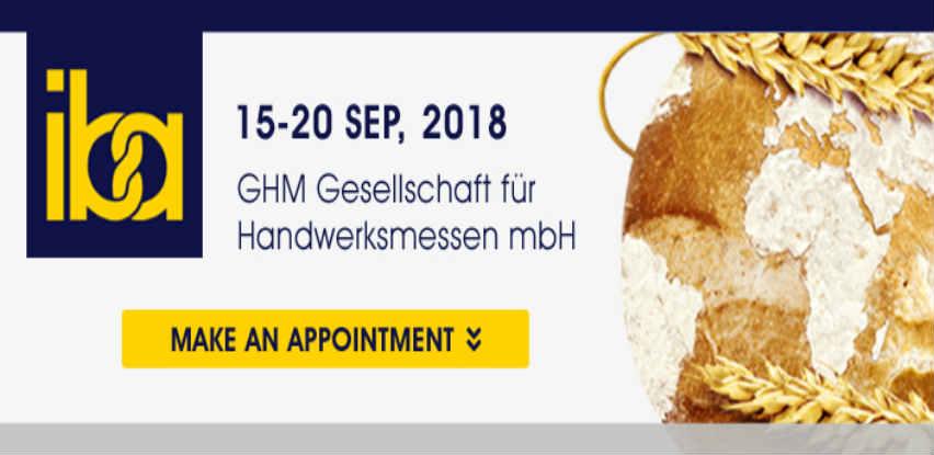 Master-H vas vodi na svjetski sajam pekarstva - IBA 2018