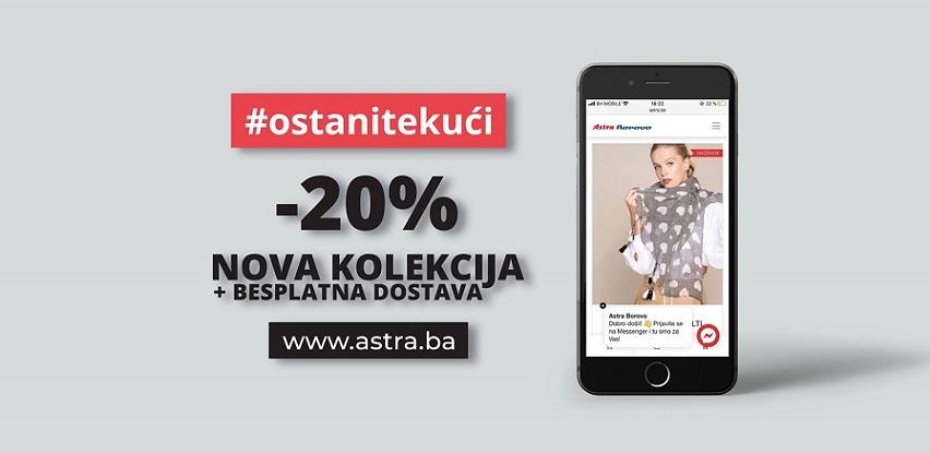 Kupujte online: Nova kolekcija Astra&Borovo -20% popusta