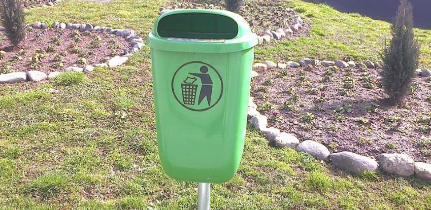 HDPE Kante za otpad stubne (Foto)