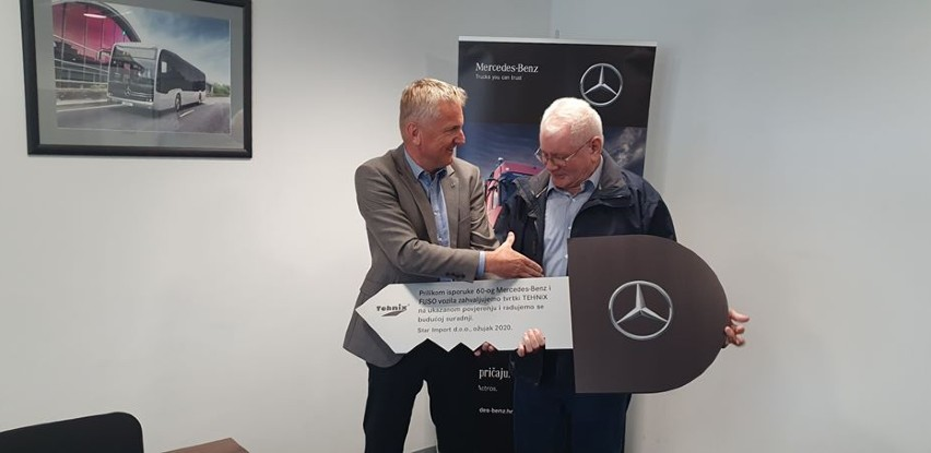 Uspješna saradnja Tehnix-a sa Mercedesom
