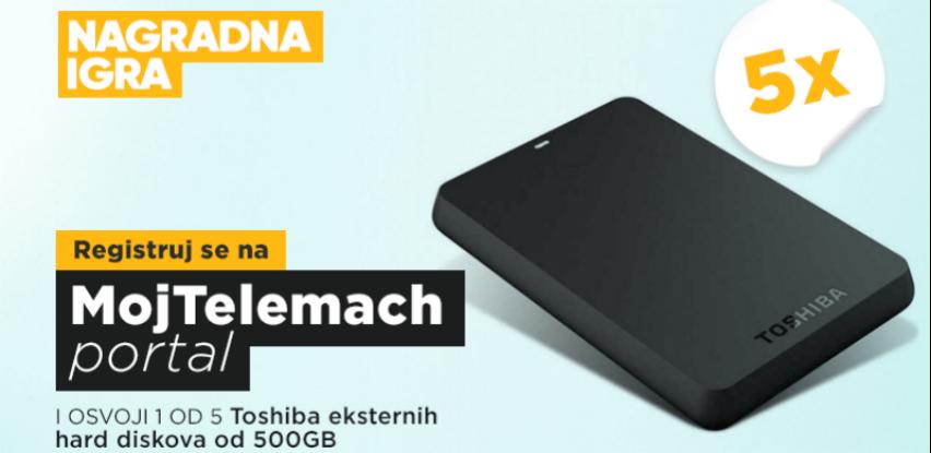 Registrujte se na MOJ TELEMACH portal i osvojite Toshiba HDD 500 GB!