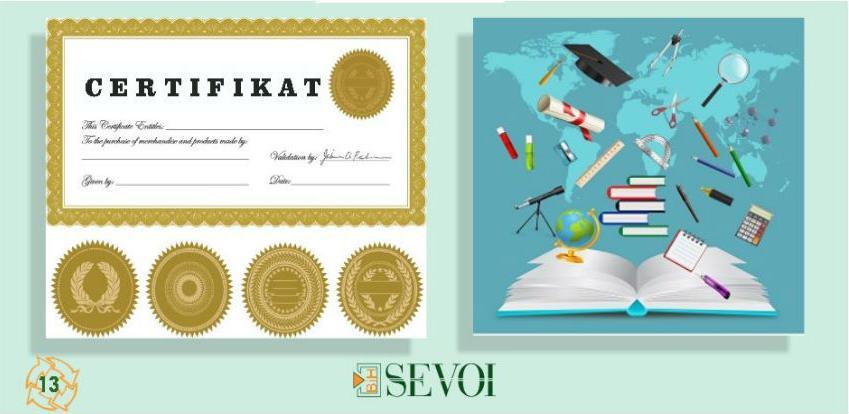 Za uspješno vođenje i upravljanje poslovanja SEVOI edukacije
