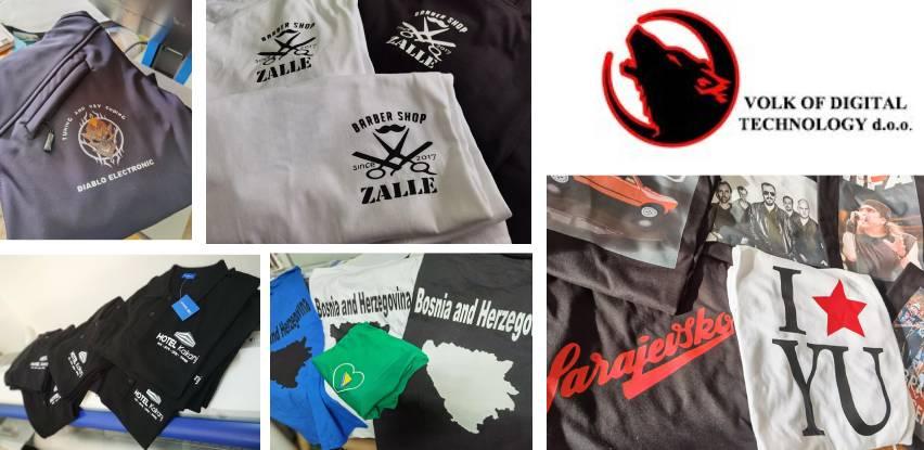 Štampa na majicama i promotivnim poklon artiklima