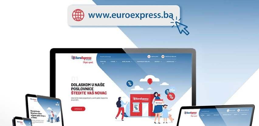 Posjetite novu internet stranicu EuroExpres brze pošte