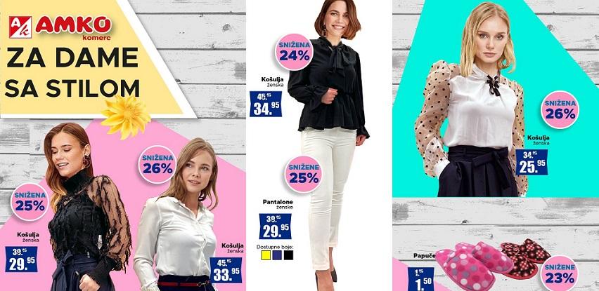 U Amko marketima pronađite idealnu odjevnu kombinaciju za vas i vaše najmilije