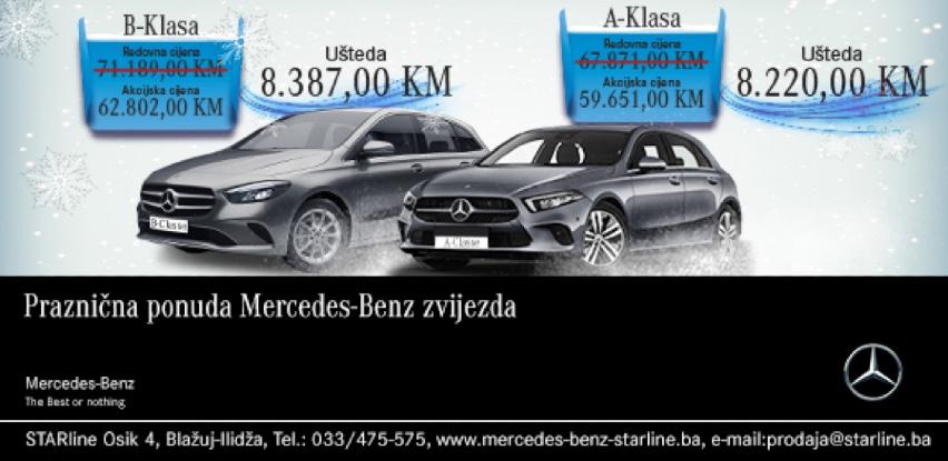 Praznična ponuda Mercedes-Benz zvijezda