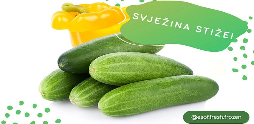 ESOF svježe voće i povrće stiže na online shop i u ESOF prodavnice!