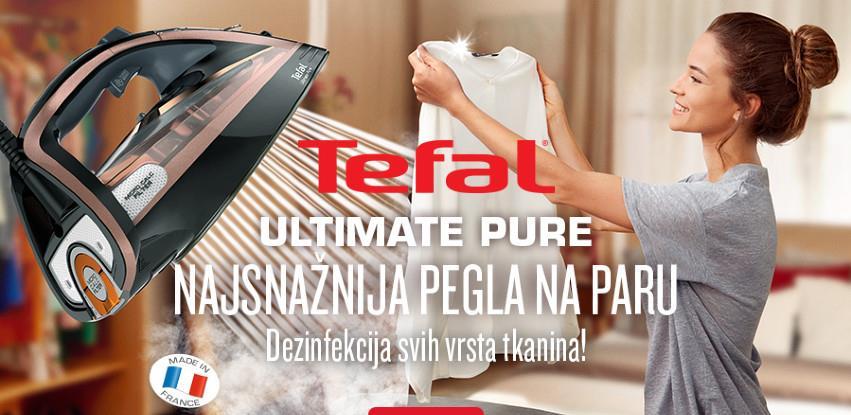 Najsnažnija porodica pegli na paru iz Tefala – Ultimate Pure!