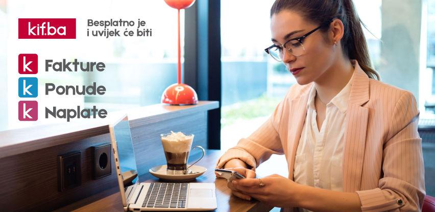 Kif.ba - jedina besplatna bh. web platforma za izradu i upravljanje fakturama