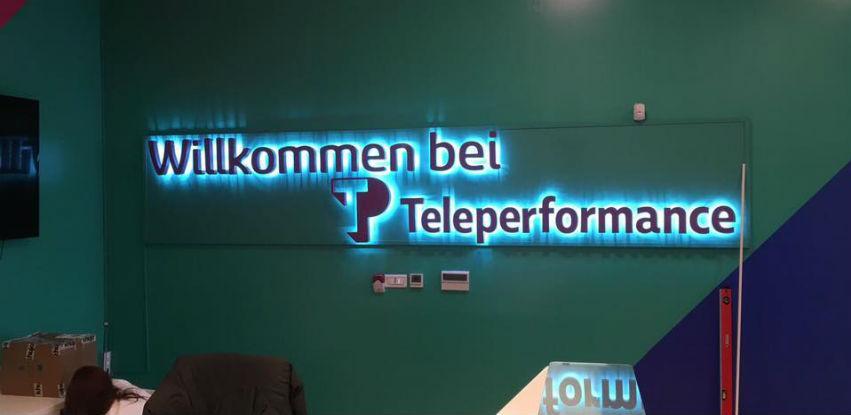 Izrada i montaža 3D slova sa pozadinskom LED rasvjetom
