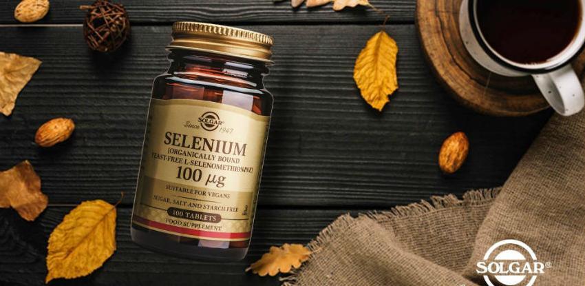 Solgar selenium - Zaštita DNA, proteina i lipida od oksidativnih oštećenja