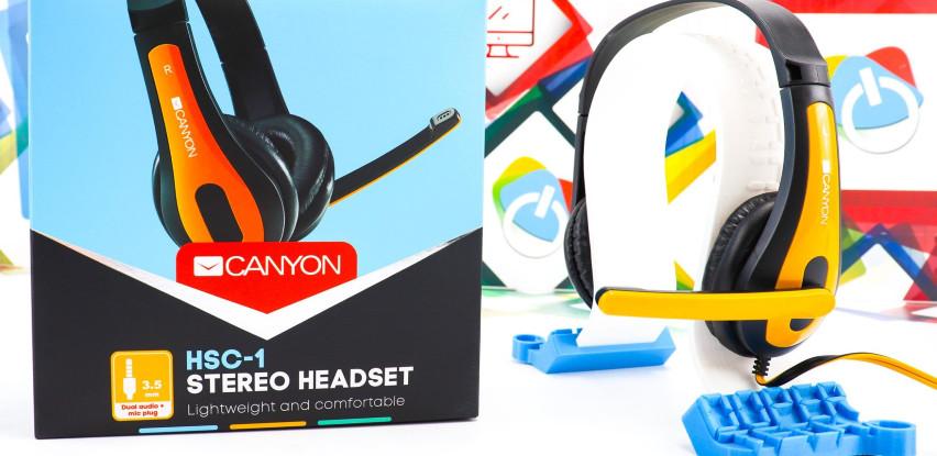Još jedna odlična ponuda: Slušalice Canyon HSC-1 stereo