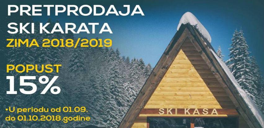 OC Jahorina: Pretprodaja ski karata - zima 2018/2019