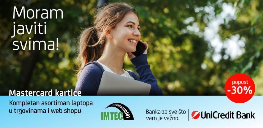 UniCredit Bank i IMTEC vam ovog ljeta daruju najbolji popust