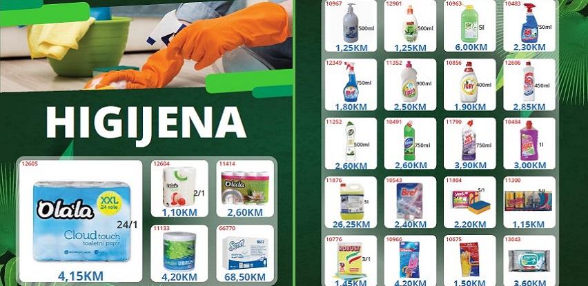 Sve za čišćenje i održavanje higijene u ponudi ŽAD Store