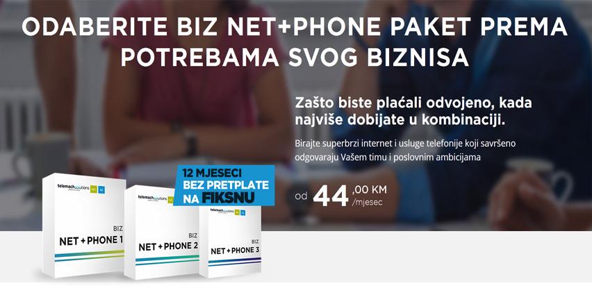 Pametna rješenja – pametno upakovana, probajte BIZ NET+PHONE PAKETE!