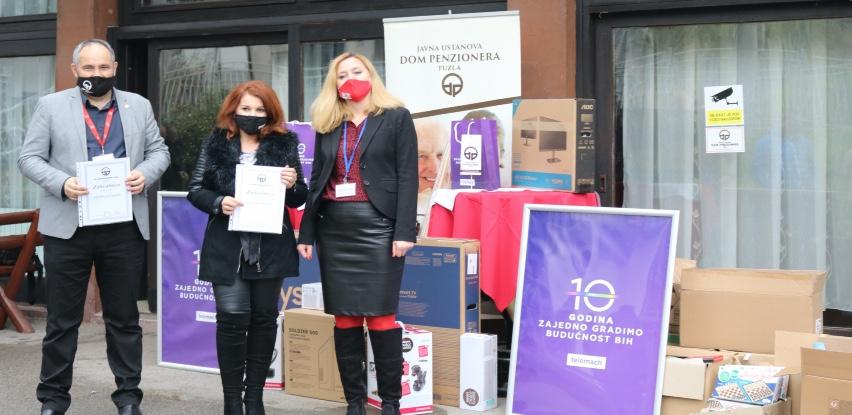 Telemach donacijama nastavio obilježavanje deset godina poslovanja u BiH