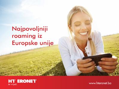 HT Eronet nudi najpovoljniji roaming iz Europske unije