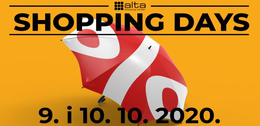 Jesen nije hladna - Alta daruje vrijeme vrućih shopping dana