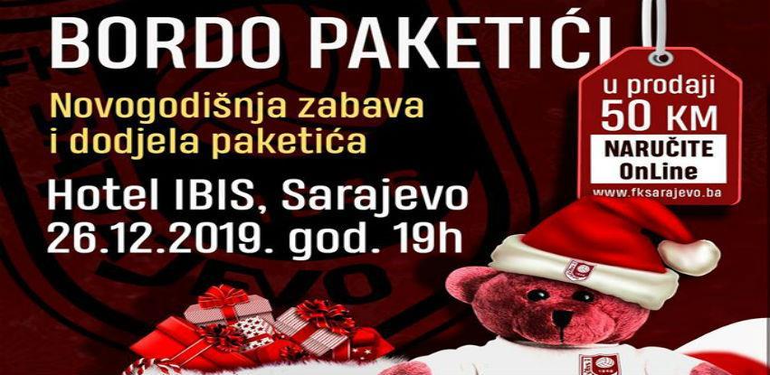 FK Sarajevo u hotelu Ibis Styles organizuje dodjelu paketića