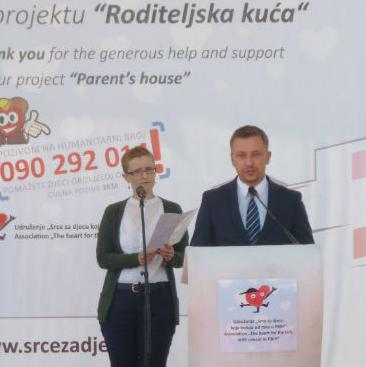 """Raiffeisen Banka podržala izgradnju """"Roditeljske kuće"""" u Sarajevu"""