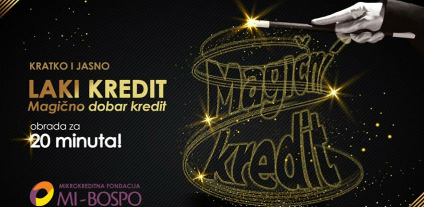 KRATKO I JASNO – LAKI KREDIT Magično dobar kredit