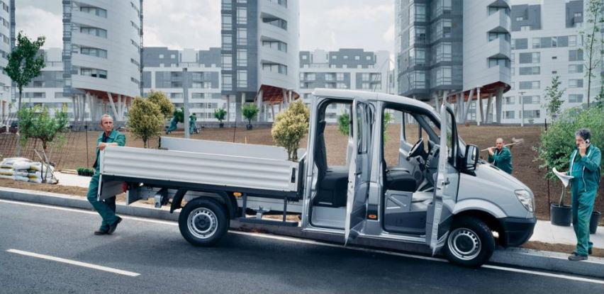 Mercedes-Benzov Sprinter Sandučar otvoren za sve što olakšava posao