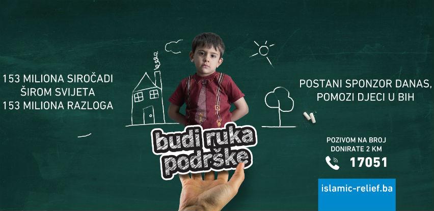 Budi ruka podrške: Postani sponzor danas, pomozi djeci u BiH