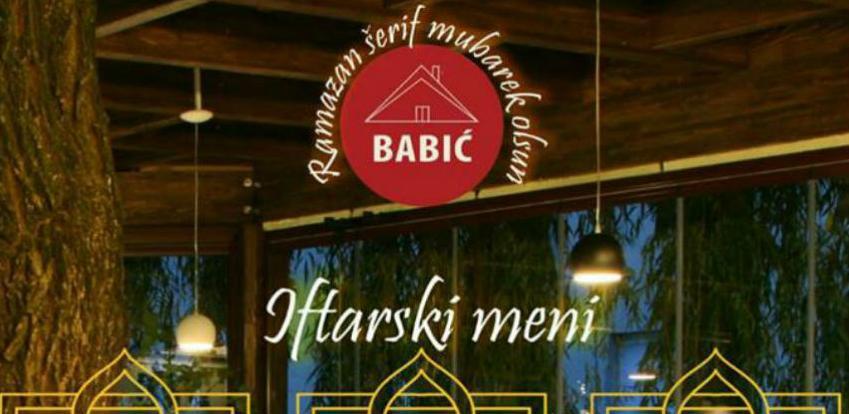 Dočekajte iftar u ugodnom ambijentu restorana Babić