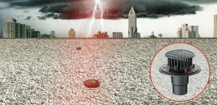 ACO Passavant Spin slivnici visokog učinka za ravne krovove