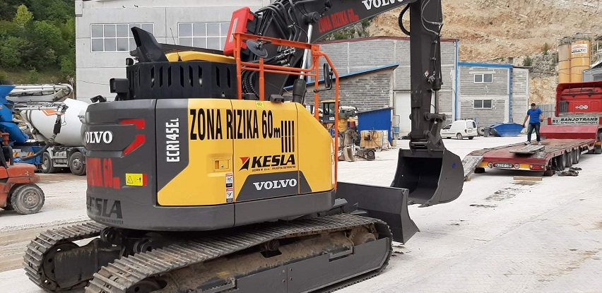 Demo verzija VOLVO ECR145EL (16.5 tona)