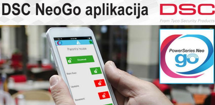 DSC NeoGO aplikacija za mobilne uređaje