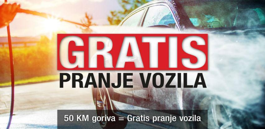 50 KM goriva = Gratis pranje vozila