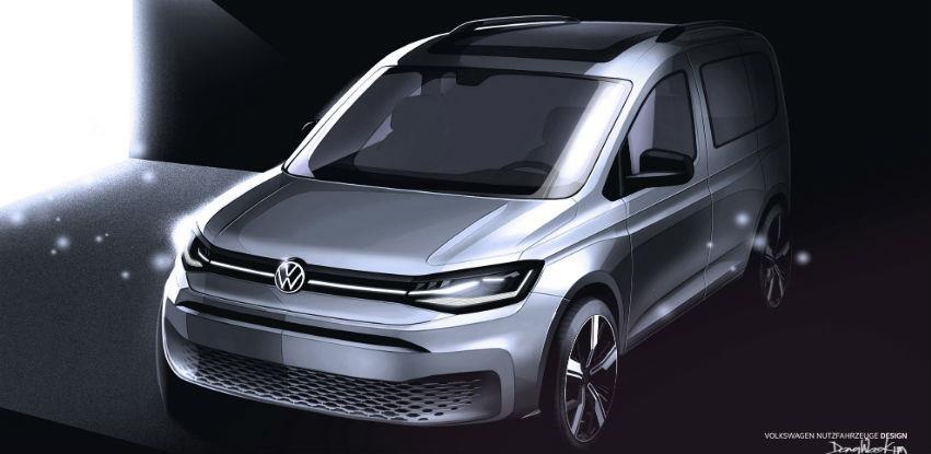 Novi Volkswagen Caddy: Prije svjetske premijere u februaru